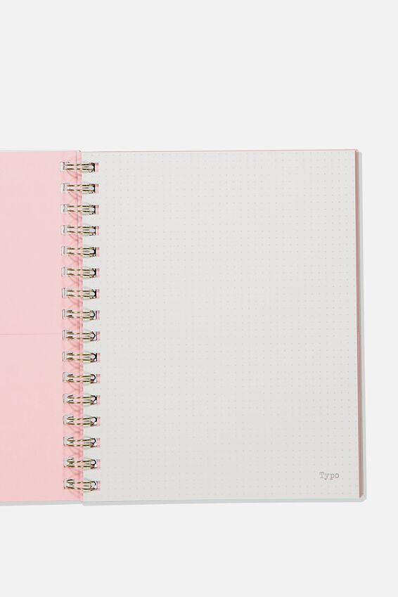 A5 Campus Notebook Dot Internal Recycled, PASTEL CLOUD