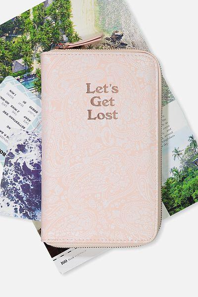 Odyssey Travel Compendium, BLUSH LACE