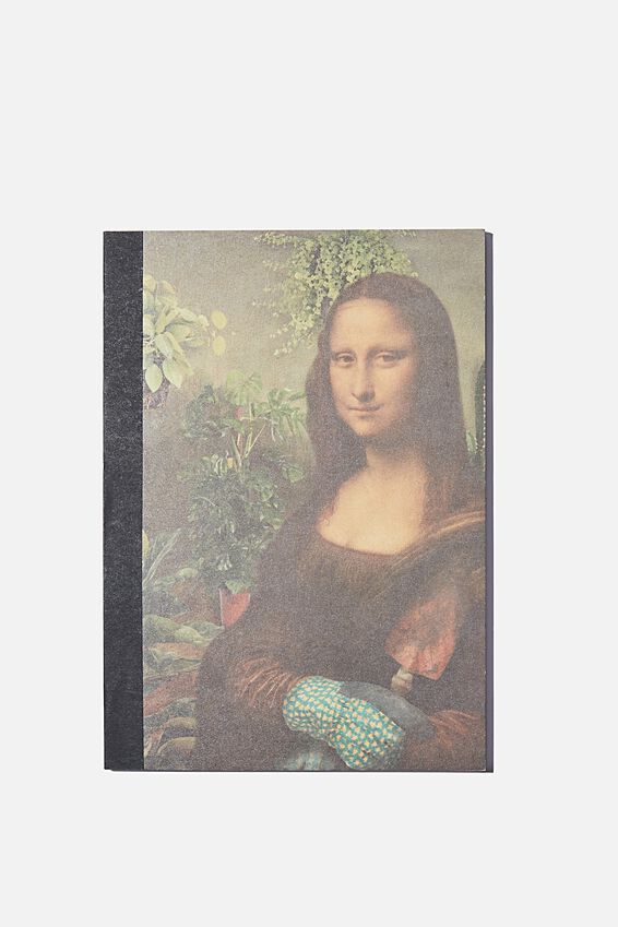 A5 Sketch Mate Book, GARDENING MONA