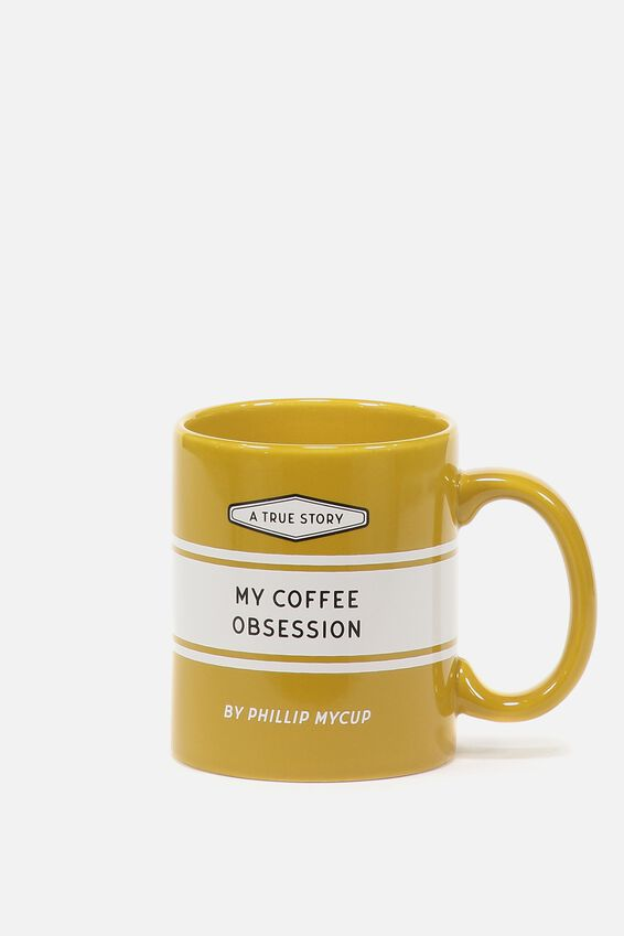 Anytime Mug, COFFEE OBSESSIONS