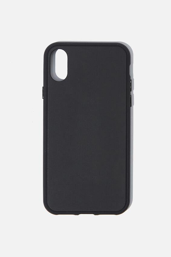 Snap On Protective Phone Case X, Xs, MATTE BLACK