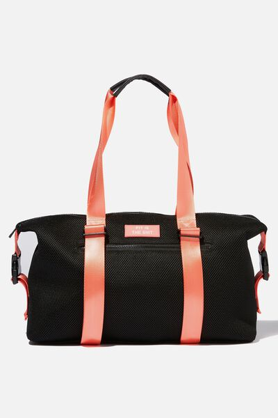 Active Duffle Bag Black Mesh