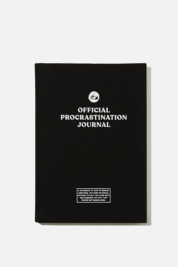 A5 Oxford Notebook, OFFICIAL PROCRASTINATION