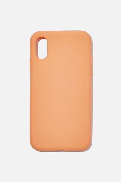 Slimline Recycled Phone Case Iphone X, Xs, PEACH