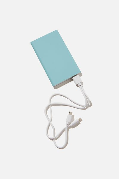 Charge It Power Bank, DUSTY TURQUOISE