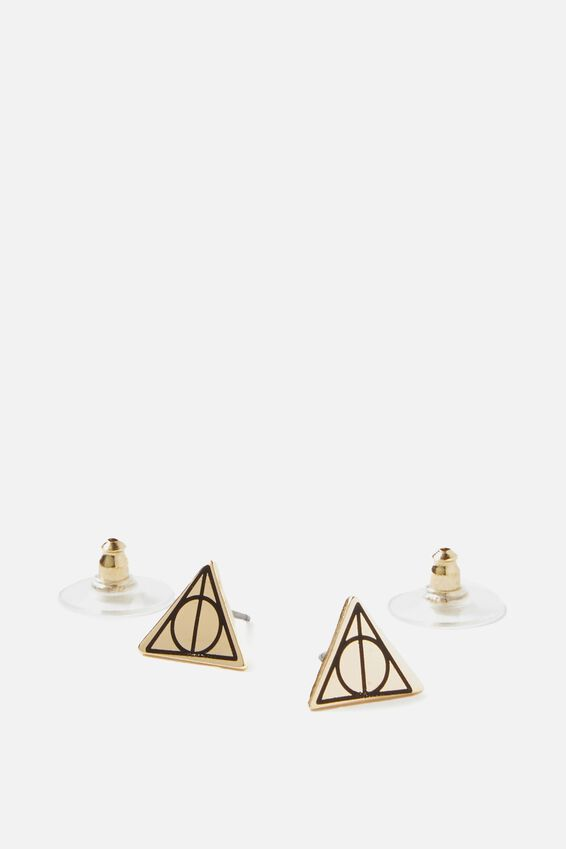 Harry Potter Novelty Earrings, LCN DEATHLY HALLOWS