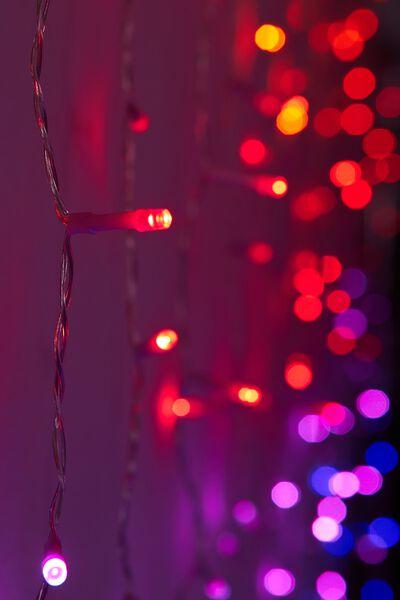 Cascading Lights, PINK MULTI