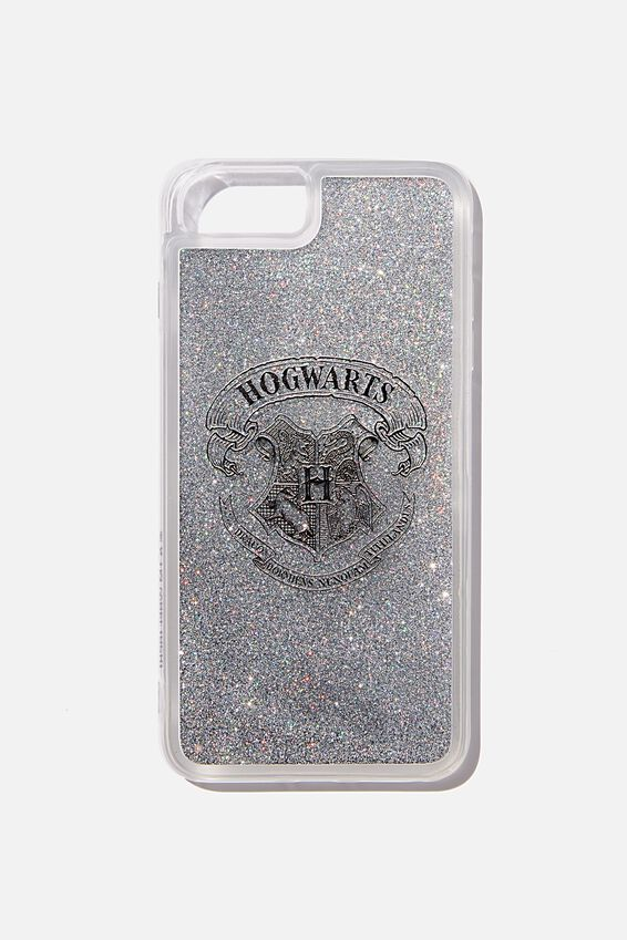 Shake It Harry Potter Phone Case 6, 7, 8 Plus, LCN WB HOGWARTS CREST