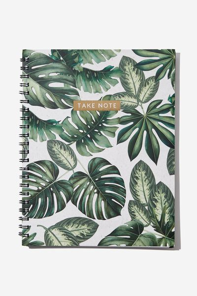 A4 Campus Notebook, MONSTERA NOTES