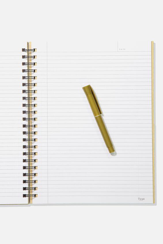 A4 Campus Notebook, PLANISPHERE CELESTE MAP