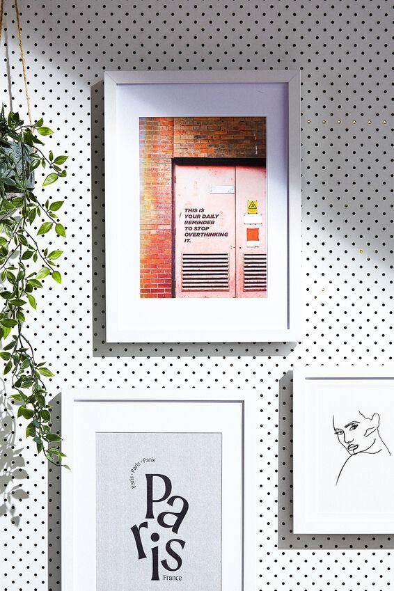 A4 Framed Print, DAILY OPTIMISM