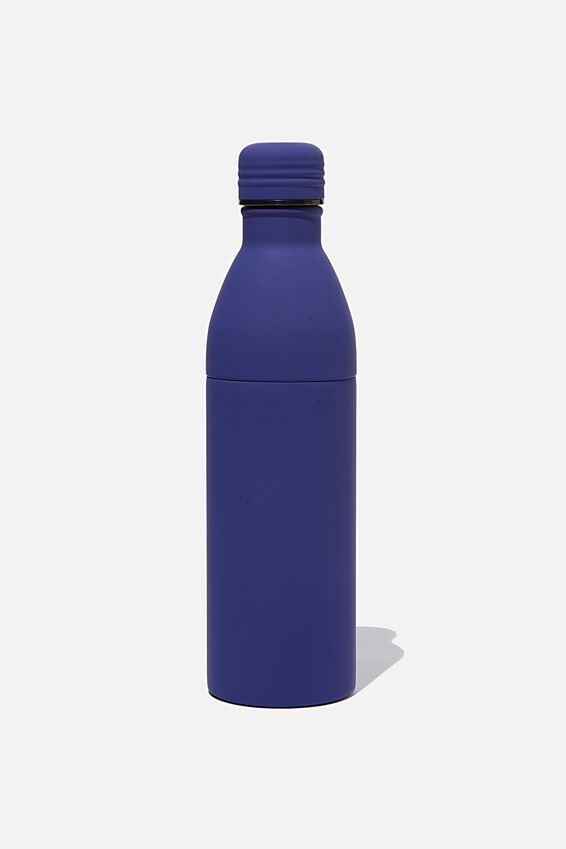 Two Piece Metal Drink Bottle, NAVY