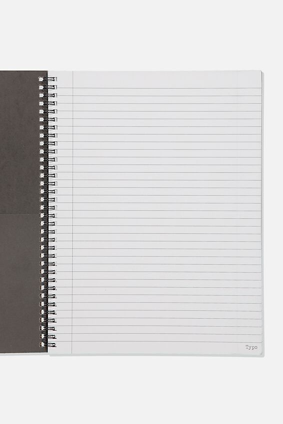 A4 Spinout Notebook Recycled, TBAR LEARN SOME