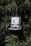 Resin Christmas Ornament, DESKTOP COMPUTER!