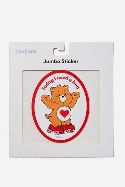 Jumbo Sticker, LCN CLC NEED A HUG