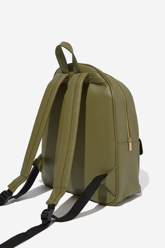 Scholar Backpack, OLIVE