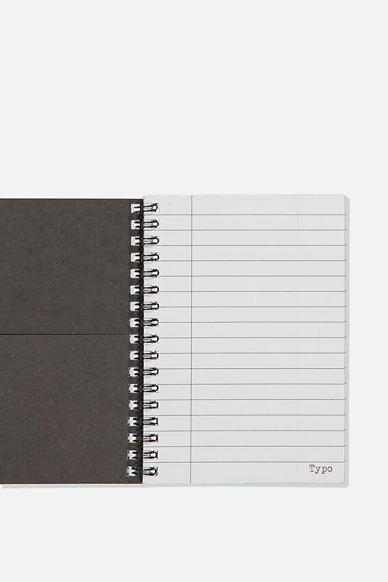 A6 Spinout Notebook, SIZE DOESNT MATTER