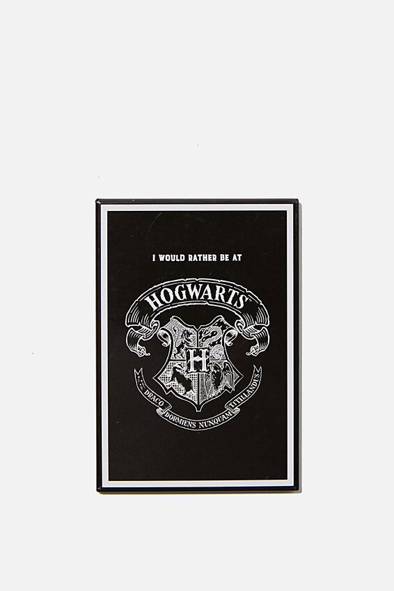 Harry Potter Quirky Magnets, LCN WB RATHER HOGWARTS