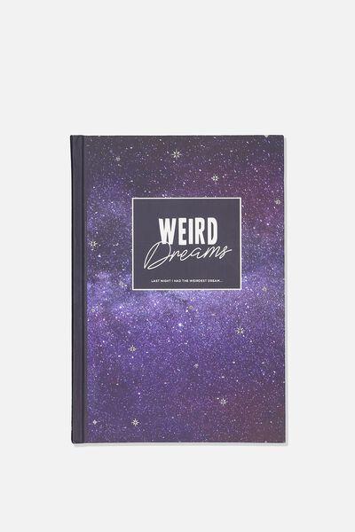 A5 Fashion Activity Journal, WEIRD DREAMS