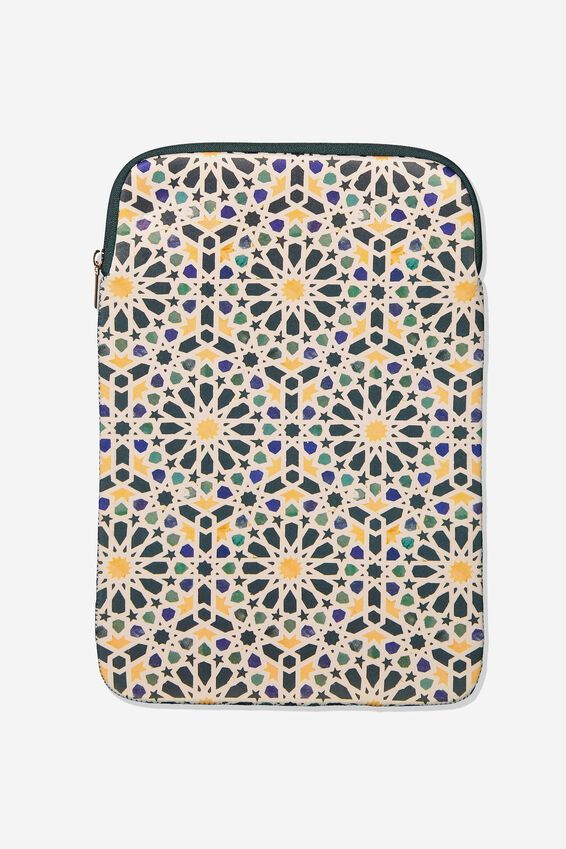Laptop Sleeve 13 Inch, TILES