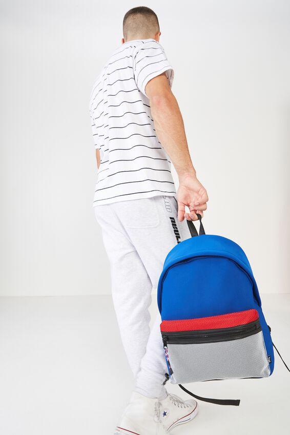Omw Backpack, BLUE NEOPRENE