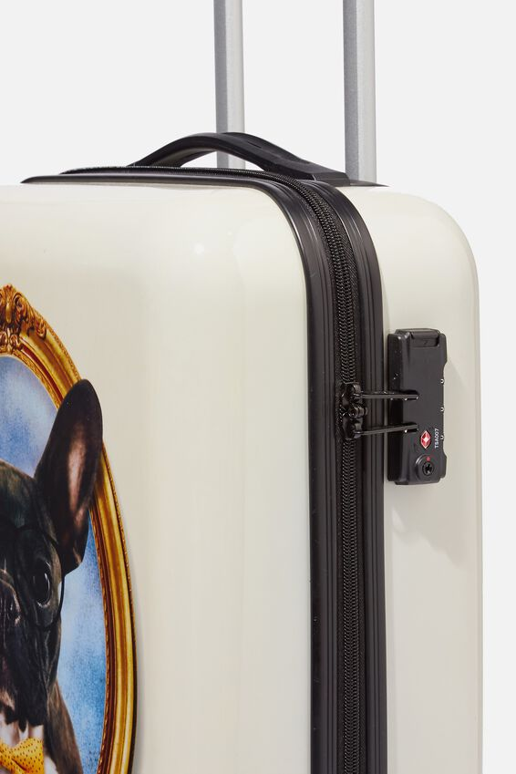 Tsa Small Suitcase, FRENCHIE PORTRAIT