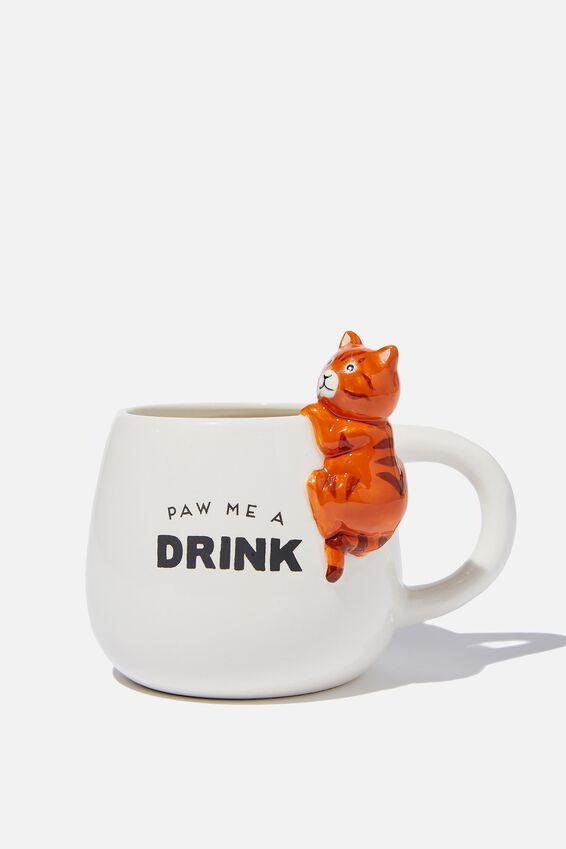Novelty Shaped Mug, KEVIN THE CAT