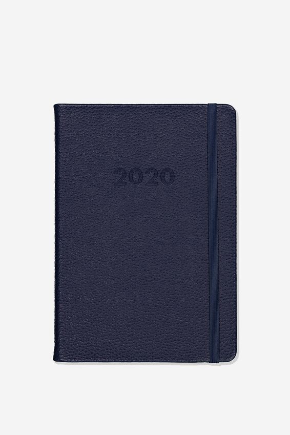 2020 A5 Weekly Buffalo Diary, NAVY
