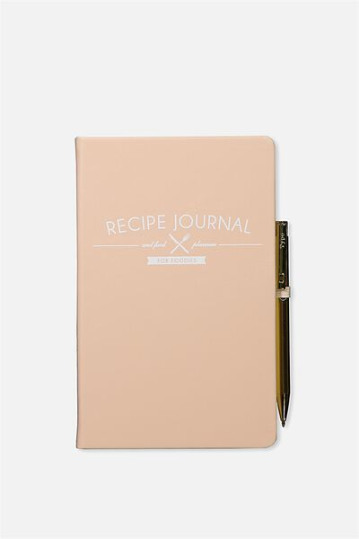 Boxed A5 Premium Activity Journal, BLUSH RECIPE