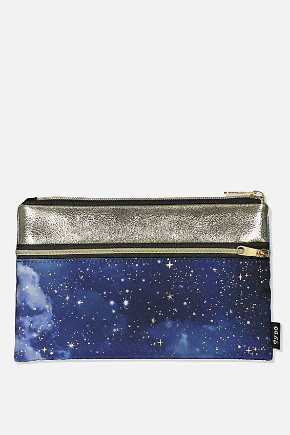 Archer Pencil Case, GALAXY STARS