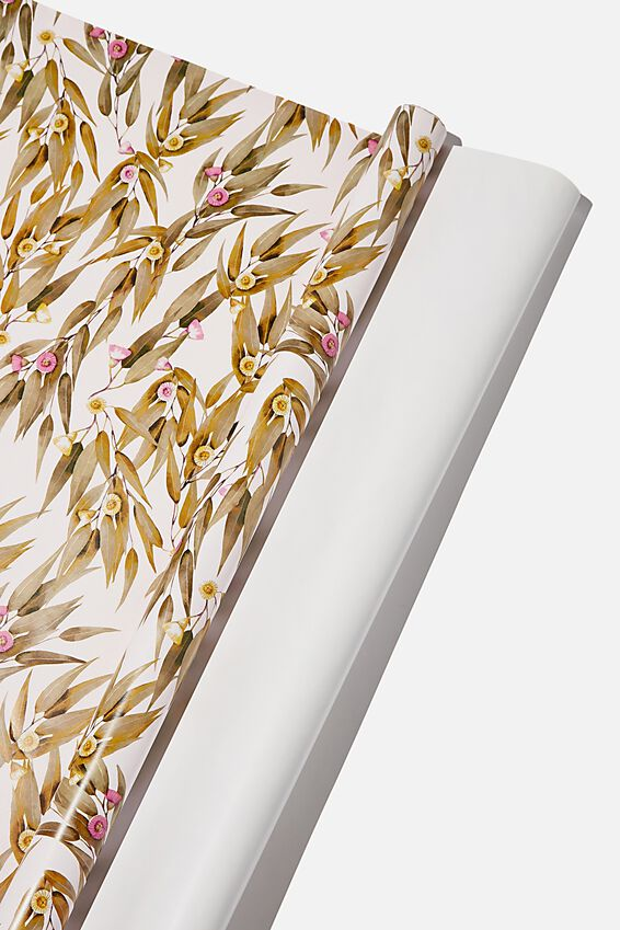 Roll Wrapping Paper, EUCALYPT GUMNUT