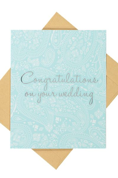 Wedding Card, LACE WEDDING
