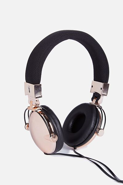 Tune Out Headphones, ROSE GOLD
