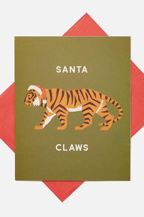 Christmas Card 2020, SANTA CLAWS