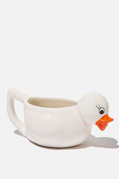 Novelty Shaped Mug, RUBBER DUCK