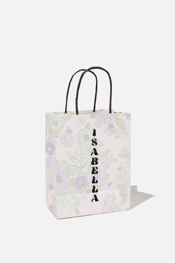 Get Stuffed Gift Bag - Small, MOLLY FLORAL MINT LILAC