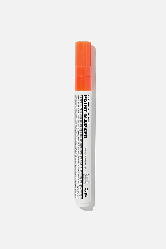 Colour My World Paint Marker, ORANGE