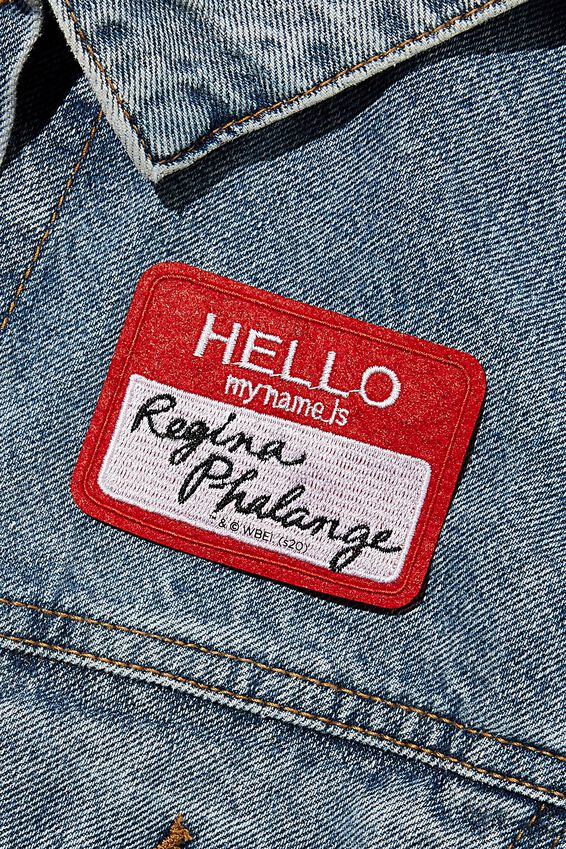 Friends Fabric Badge, LCN WB FRI REGINA PHALANGE