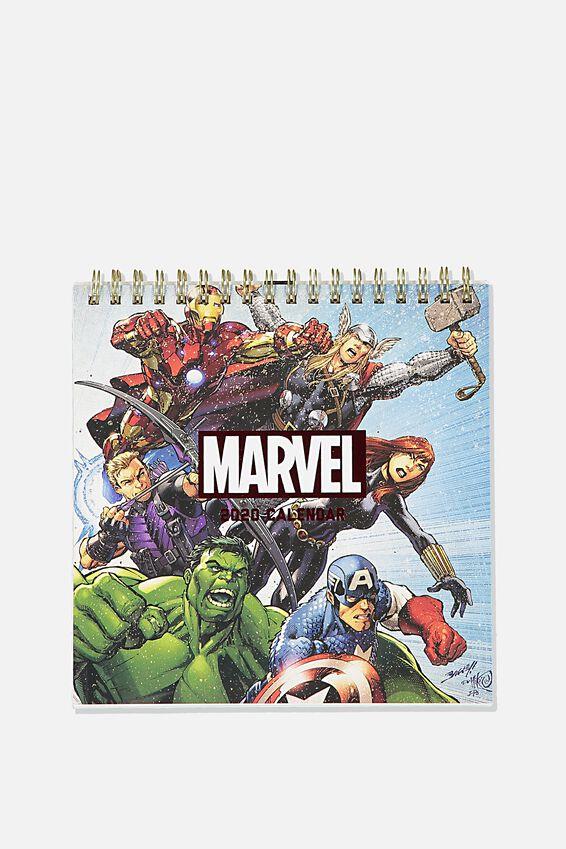2020 Get A Date Flip Desk Calendar, LCN MAR MARVEL