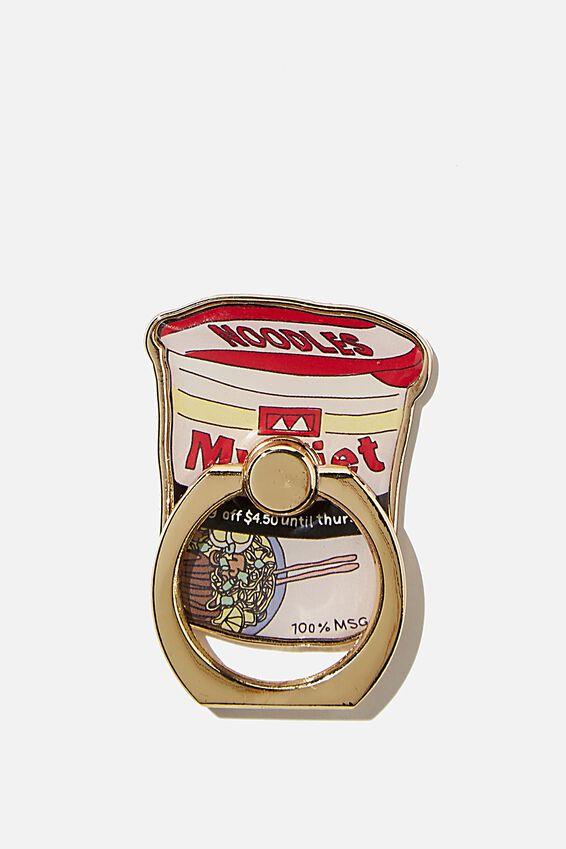 Enamel Phone Ring, NOODLES