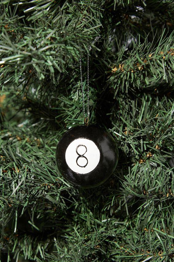 Resin Christmas Ornament, 8 BALL