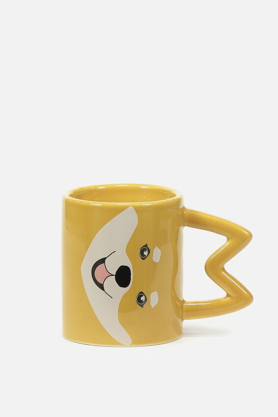 Novelty Shaped Mug, SHIBA EARS
