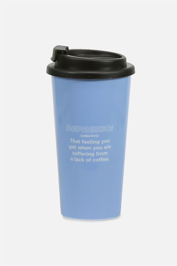 Printed Travel Mug, DEPRESSO