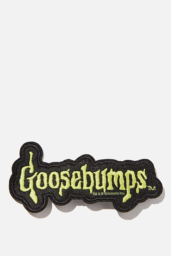 Goosebumps Fabric Badge, LCN SON GOOSEBUMPS
