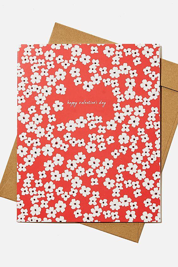 Valentines Day Card 2021, HAPPY VALENTINES CHERRY BLOSSOM
