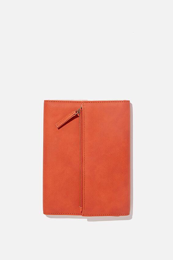 Zip Pocket Diary, RUST
