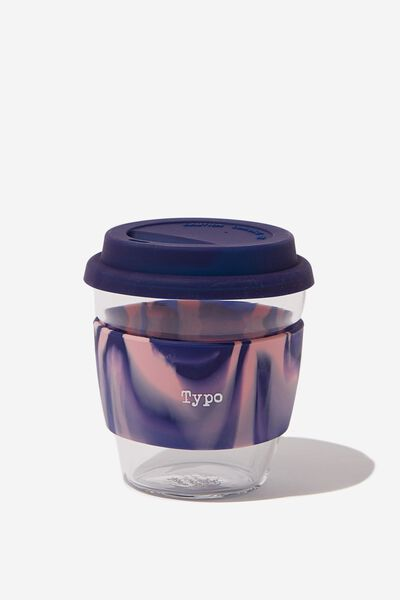 Give A Sip Cup 8Oz, PINK SWIRL