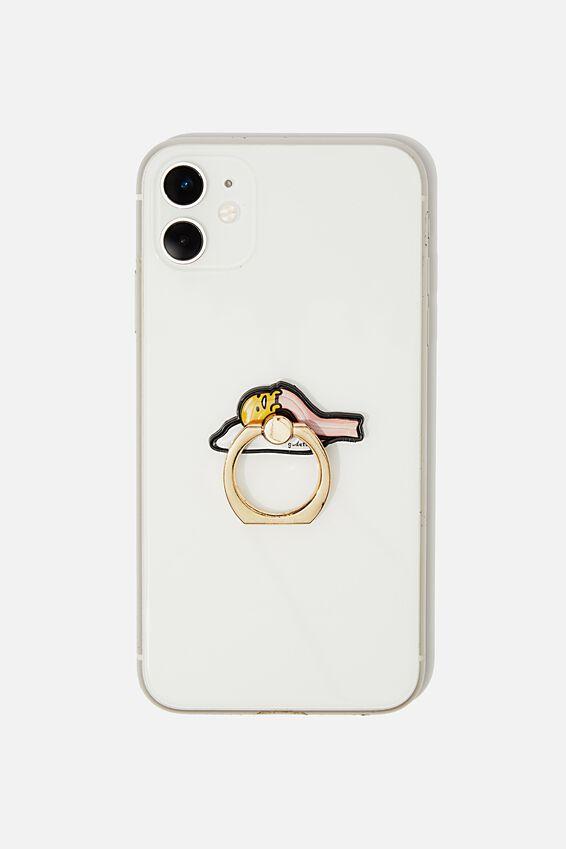 Gudetama Metal Phone Ring, LCN SAN GUDATAMA SLEEP