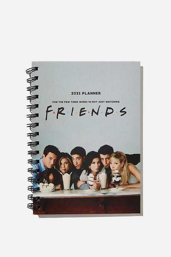 2021 A5 Spiral Diary, LCN WB FRIENDS