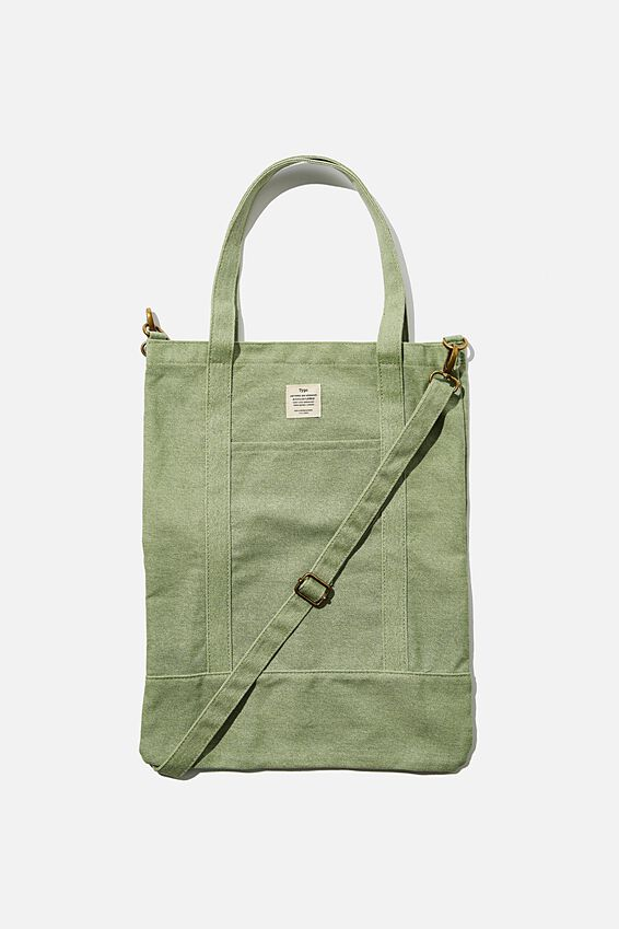 Book Tote Bag, EUCALYPT